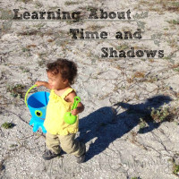 Learning about time and shadows.